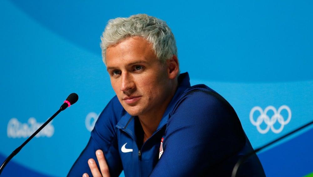 Ryan Lochte, nadador de Estados Unidos