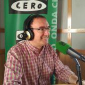 Germán González en los micrófonos de Onda Cero