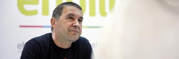El candidato de EH Bildu a lehendakari, Arnaldo Otegi