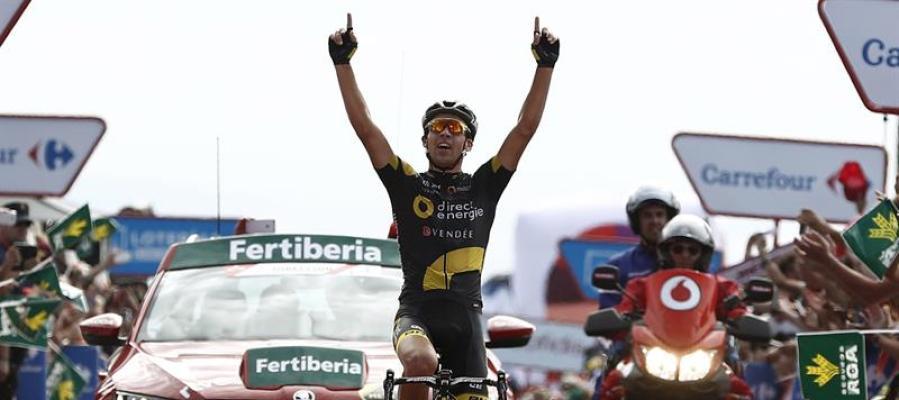 Calmejane se adjudica la cuarta etapa de la Vuelta
