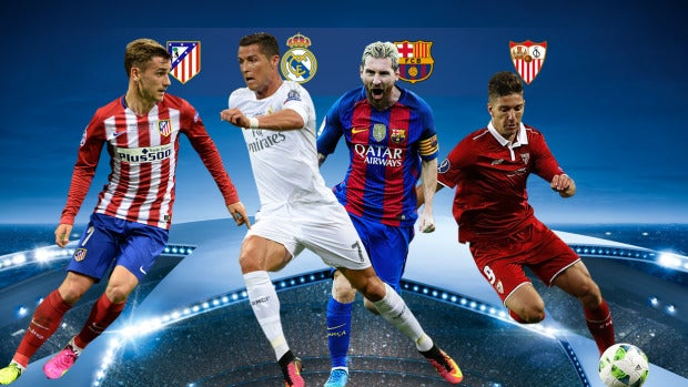Lo españoles del sorteo de la Champions Total