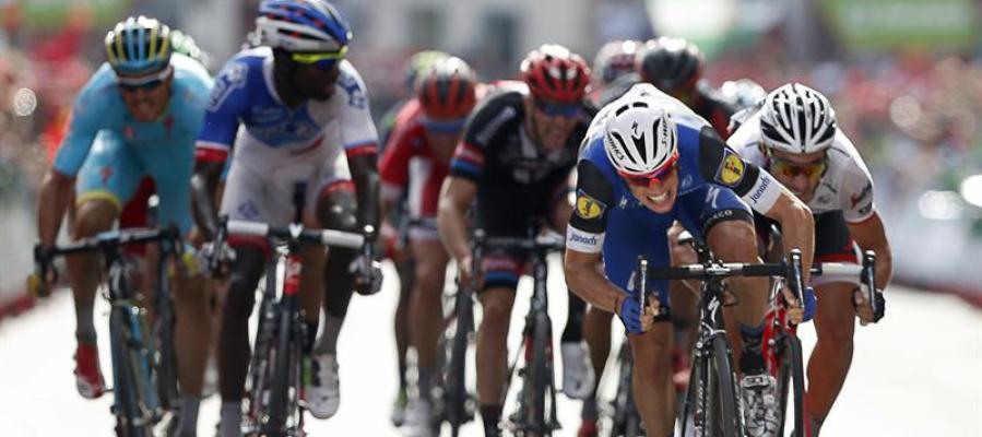 Final de la quinta etapa de la Vuelta a España