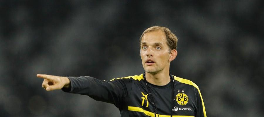 Thomas Tuchel, técnico del Borussia Dortmund