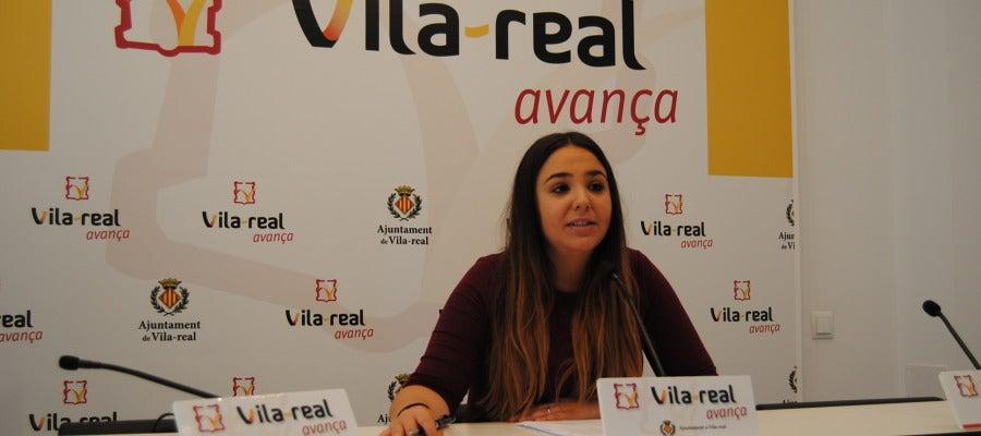 La regidora d'Igualtat, Anna Vicens.