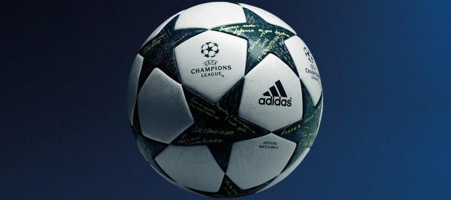 Adidas muestra el balón de la Champions