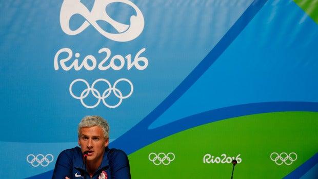 El nadador estadounidense Ryan Lotche