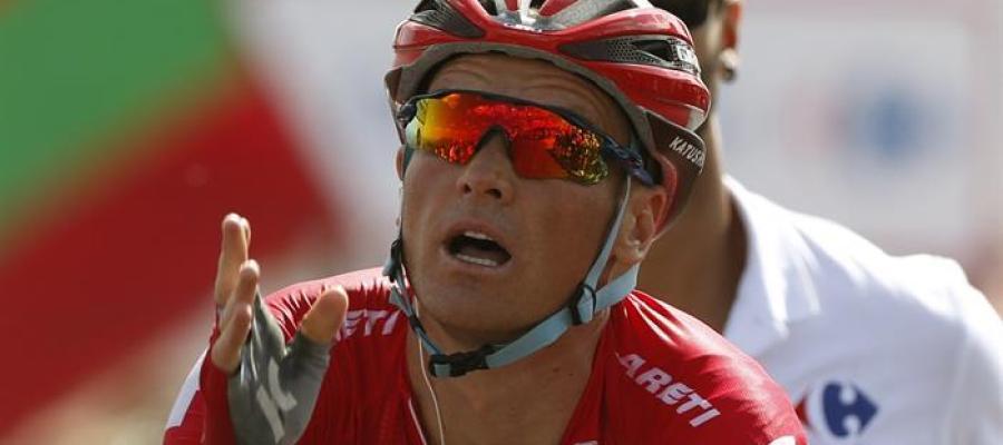 El ciclista Lagutin gana la octava etapa