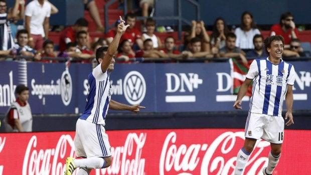 La Real Sociedad logra su primera victoria de la temporada