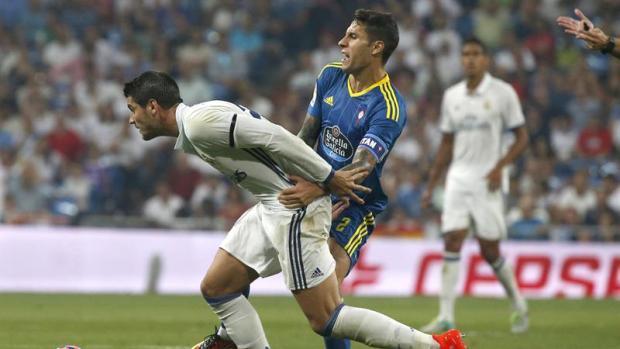 Real Madrid 2 - 1 Celta. Morata y Kroos sostienen al Madrid ante un buen Celta