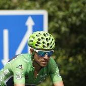 Alejandro Valverde en la decimocuarta etapa de La Vuelta 2016