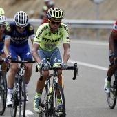 Contador y Quintana lideraron el grupo de escapados de la 15ª etapa en la Vuelta