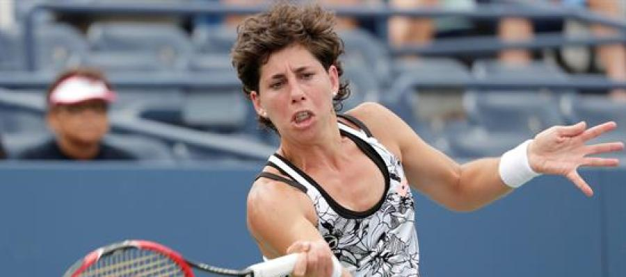 La tenista española, Carla Suárez.