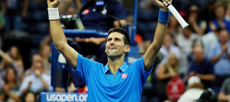 Djokovic, en cuartos de final del US Open de EE.UU.