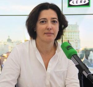 Rosa Belmonte en los estudios de Onda Cero