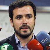 El coordinador federal de IU, Alberto Garzón, en una imagen de archivo.