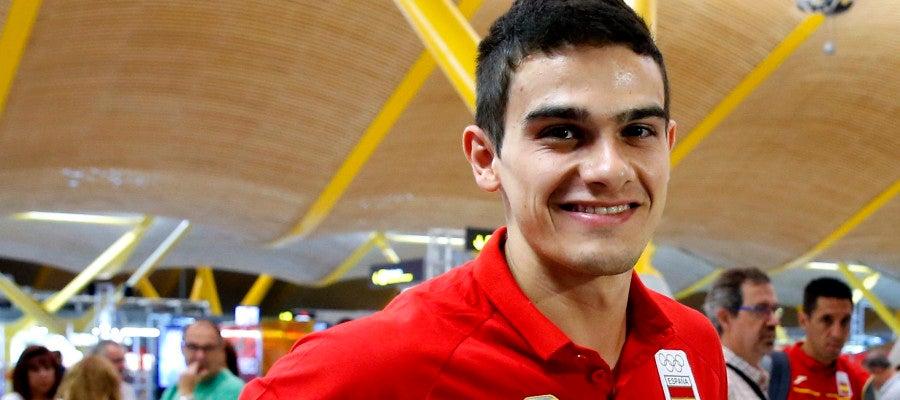 El velocista Bruno Hortelano