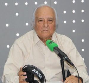 Raúl del Pozo en los estudios de Onda Cero