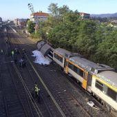 Accidente de tren en O Porriño