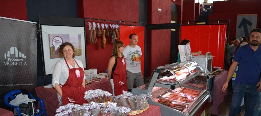 Los productos autóctonos se promocionan en la Fira de Morella, la más antigua de la Comunitat Valenciana