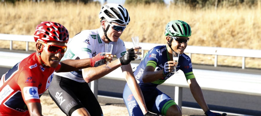 Quintana, Froome y Chaves, en la Vuelta