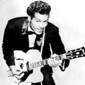 El cantante Chuck Berry