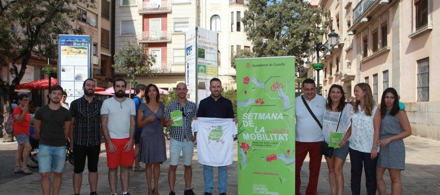 La Semana de la Movilidad se celebrará del 15 al 22 de septiembre en Castellón.