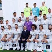 Foto de temporada 2016-17 del Real Madrid