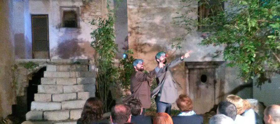 Moment de l'actuació a Vilafranca.
