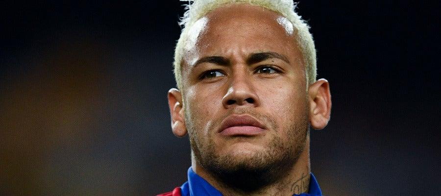 Neymar Jr en el partido contra el Celtic