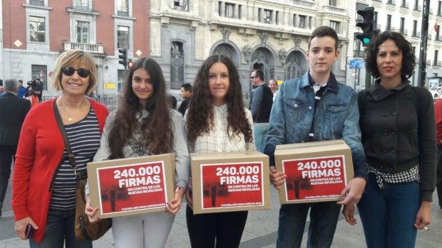 """Isidoro Martínez: """"Estamos en casi un millón de firmas contra las reválidas desde que fui a hablar con el ministro de Educación"""""""