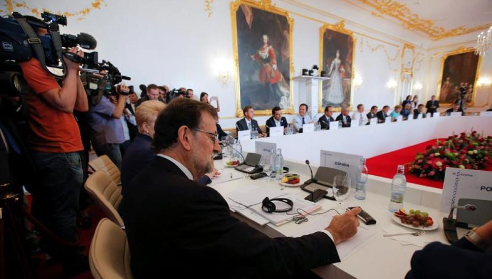 Mariano Rajoy, asiste a la cumbre informal de jefes de Estado y de Gobierno de la Unión Europea