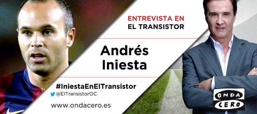 Andrés Iniesta en El Transistor