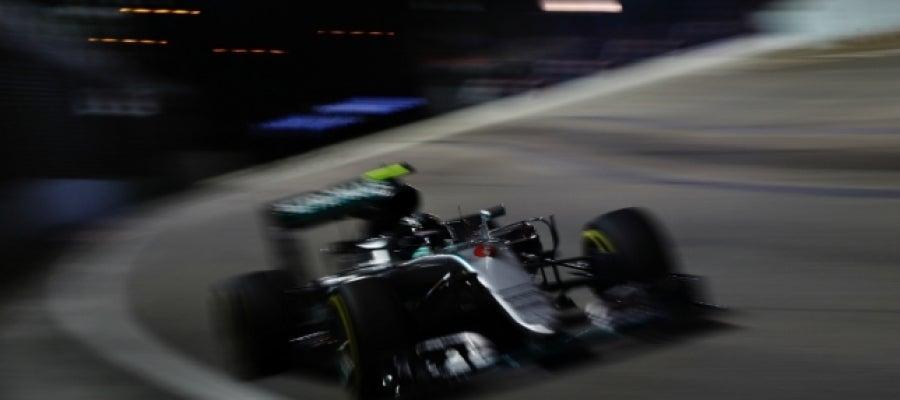 Rosberg, en Singapur