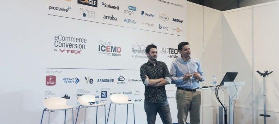 Emilio Sánchez y Toño Sangrador en el eShow