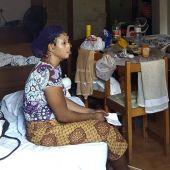 Dos de las 21 mujeres nigerianas que han sido liberadas después de que una banda las obligara a prostituirse en Ibiza