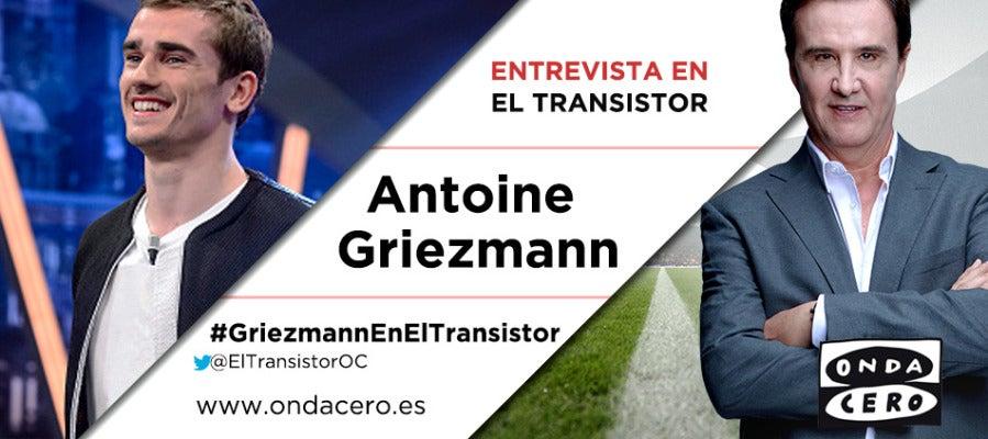 Antoine Griezmann visita El Transistor