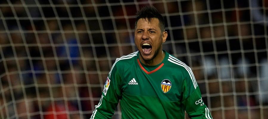Diego Alves es el portero con más penaltis parados en la historia de la Liga