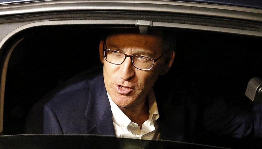 Alberto Núñez Feijóo, candidato del PP a la Xunta