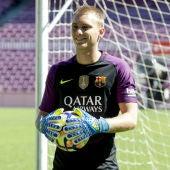 Cillessen, con el Barça