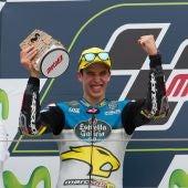 Alex Márquez consigue subir al podio en Moto2