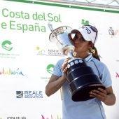 Azahara Muñoz hace historia en el Open de España