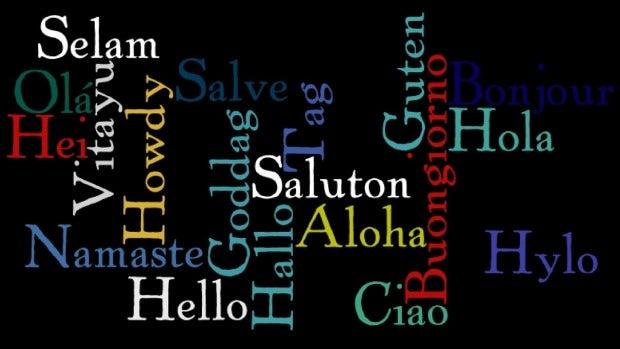 Canciones para decir hola