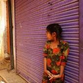 Imagen de archivo de una niña de la India