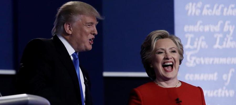 Primer debate de candidatos presidenciales estadounidenses, Donald Trump y Hillary Clinton