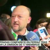 """Frame 69.457179 de: Antonio Pradas: """"El compañero Luena no puede convocar una Ejecutiva"""""""