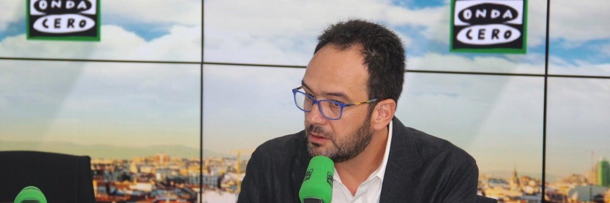 """Antonio Hernando: """"Tras el 26J tuve dudas acerca de abstenernos a un Gobierno de Rajoy"""""""