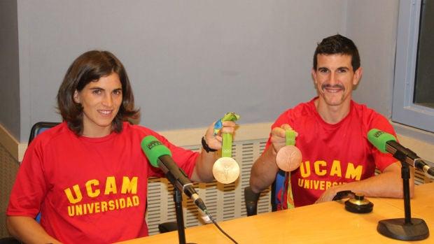 """Maialen Chourraut con Carlos Coloma: """"Me encantaría que se hiciera un seguimiento de cada deporte fuera de los Juegos"""""""