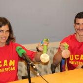 Maialen Chourraut y Carlos Coloma