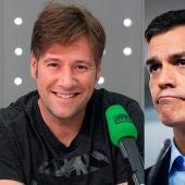 Carlos Latre y Pedro Sánchez
