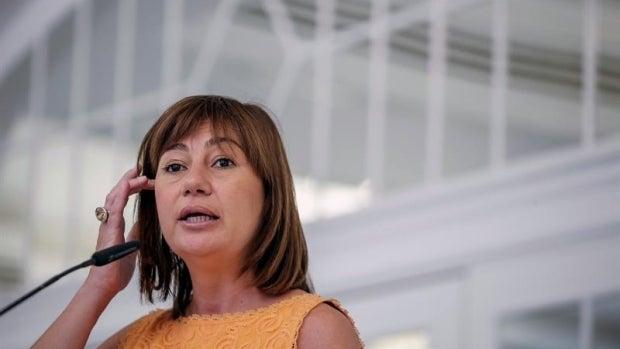 """Francina Armengol: """"Pedro Sánchez tiene mucho futuro político, pero tengo mis dudas de que sea su momento"""""""